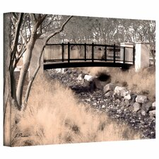 """Bridge Over Wash"" by Linda Parker Photographic Print on Canvas"