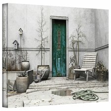 'Winter Garden' by Cynthia Decker Photographic Print on Wrapped Canvas