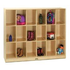 18 Cubbie Locker Storage