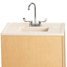 "Portable Sink 28"" x 23.5"" Single Wave Clean Hands Helper"