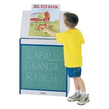 Rainbow Accents® Big Book Easel Free-Standing Chalkboard, 4' x 2'