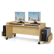 "MapleWave® Enterprise 24"" Double Computer Desk"