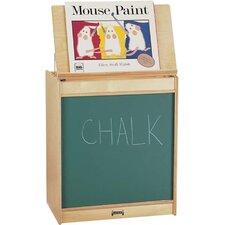 Rainbow Accents Big Book Easel - Chalkboard