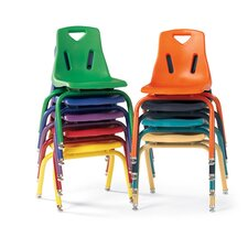 "Berries® 8"" Plastic Classroom Chair (Set of 6)"