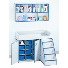 Right Diaper Changer with Stairs