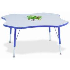 """KYDZ 48"""" Four Leaf Classroom Table"""