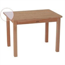 "MapleWave 30"" x 22"" Rectangular Classroom Table"