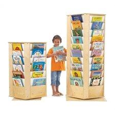 KYDZ Revolving Rectangular Book Tower