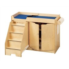 """KYDZ Changing Table with Stairs - Rectangular (22.5"""" x 48"""")"""