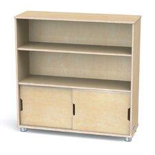 "TrueModern Two-Shelf 36"" Bookcase"