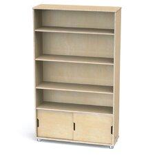 "TrueModern Four-Shelf 60"" Bookcase"