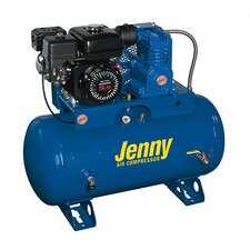 30 Gallon 8 HP Gas Single Stage Service Vehicle Stationary Air Compressor