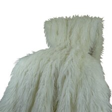Mongolian Faux Fur Acrylic Throw