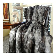 Brandy Fox Faux Acrylic Blanket