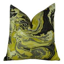Medici Marble Ink Handmade Throw Pillow