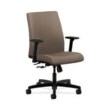 Ignition Low-back Chair in Grade IV Whisper Vinyl