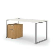 Voi L-Shaped Desk with Mobile Pedestal