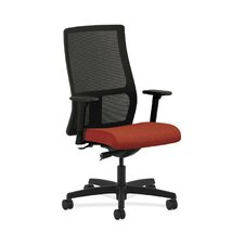 Ignition Mid-Back Mesh Task Chair in Grade III Arrondi Fabric
