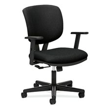 Volt Height Adjustable Task Chair in Grade III Volt Fabric
