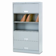 "600 Series 13.75""D 5-Drawer Letter File"