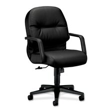Pillow-Soft Conference Mid Back Chair