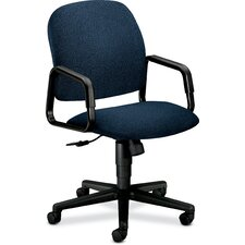 Solutions 4000 Series Conference High-Back Chair in Grade III Confetti Fabric