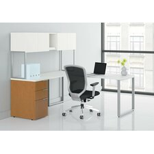 Voi Executive Desk with Stack-On Storage