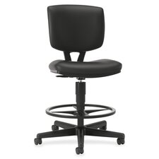Volt Adjustable Height Leather Drafting Chair