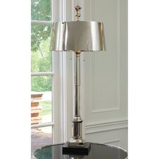 """Library 48"""" H Table Lamp with Empire Shade"""
