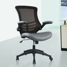 Luxurious High-back Mesh Conference Chair with Casters