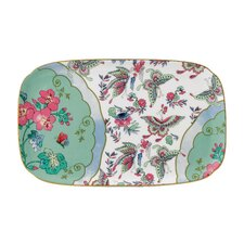 Butterfly Bloom Rectangular Sandwich Serving Tray
