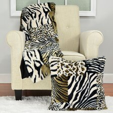 Safari Patchwork Throw