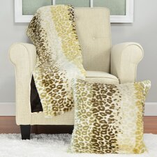 Savannah Cheetah Stripe Throw Blanket