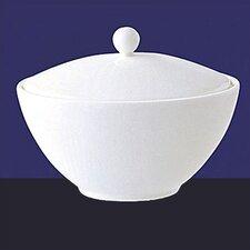 Fine Bone China Sugar Bowl with Lid