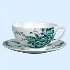Chinoiserie White Teacup
