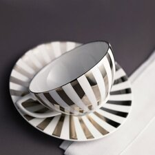 Platinum Fine Bone China Dinnerware Collection
