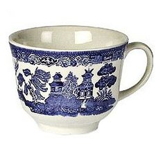 Willow Blue Teacup (Set of 6)