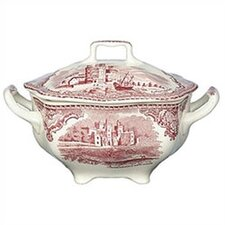 Old Britain Castles Pink Sugar Bowl with Lid