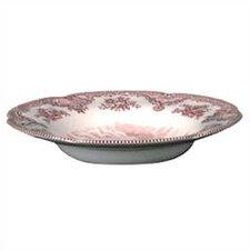 Old Britain Castles Pink Rim Soup Bowl (Set of 6)