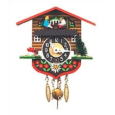 Chalet Carved Wall Clock