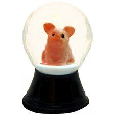 Perzy Mini Pig Snowglobe