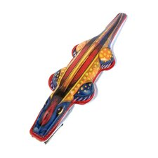 Collectible Decorative Tin Toy Clicking Crocodile
