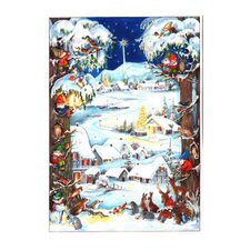 Small Woods and Animals Advent Calendar