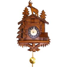 Engstler Battery Operated Wall Clock with Music/Chimes