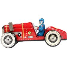 Collectible Tin Toy Model Racing Car