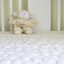 Pebbletex Organic Cotton Crib Mattress Pad