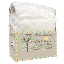 Organic Smooth Top Natural Fiber Crib Mattress Pad