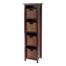 Milan 4 Drawers Tall Storage Shelf