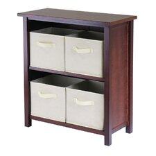 "Verona Low Storage Shelf 30"" Standard Bookcase"