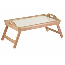 Breakfast Tray with Handles and Foldable Legs